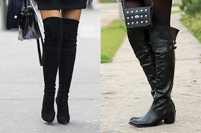 Tendência : Botas Over The Knee