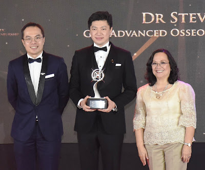 Dr. Steve Mark Gan receives prestigious honor from the  Asia Pacific Entrepreneurship Awards 2018