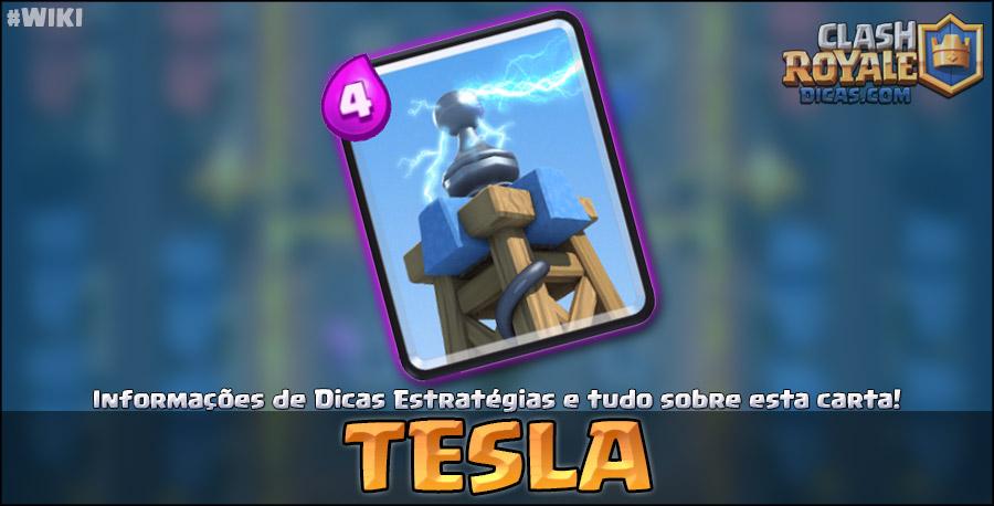 Carta da Tesla em Clash Royale