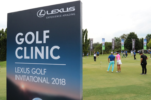 Golf Clinic @ Lexus Golf Invitational 2018