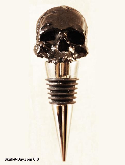 [CONTEST] Win an Urban Hardwear Skull Bottle Stopper