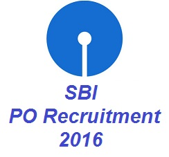 SBI PO Recruitment 2016