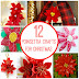 12 Poinsettia Crafts for Christmas