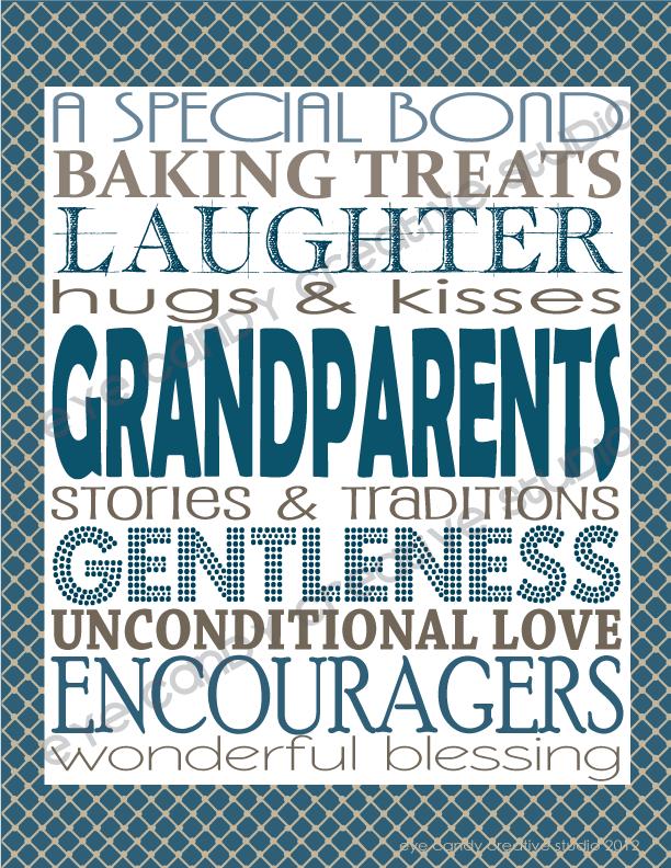 grandparents day art, free art for grandparents day, papa, grandma, grandpa