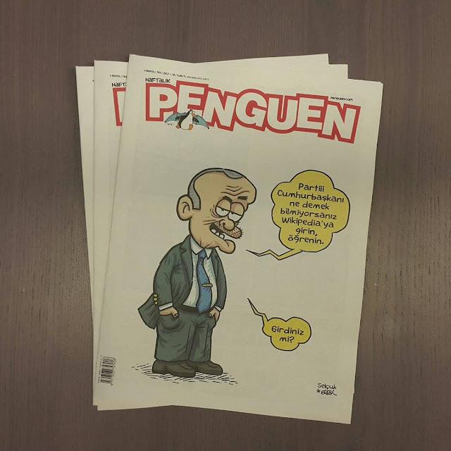 partili cumhurbaşkanı erdoğan karikatür