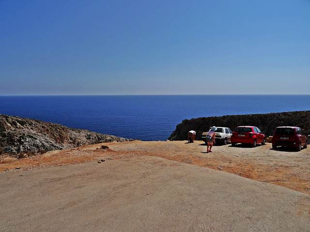 Parking przy Setian Limania, Porty Szatana, Kreta