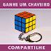 Brindes Grátis - Ganhe um Chaveiro Cubo Mágico