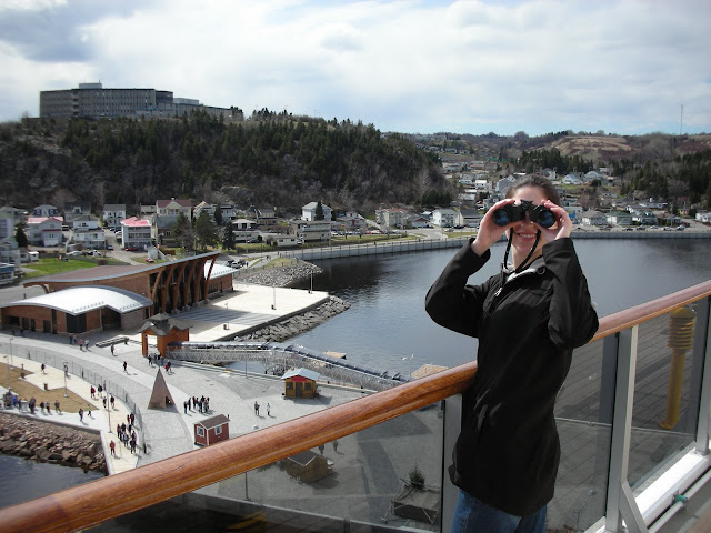 binoculars at sea and in port