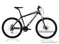 Sepeda Gunung United Miami XC77 24 Speed Shimano dan Hydraulic Disc Brake 26 Inci
