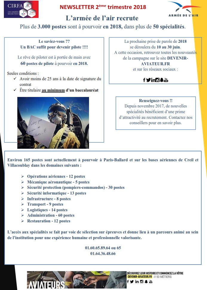 Uruguay France Education Defense L Armee De L Air Recrute