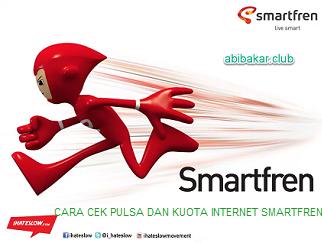 Cara Cek Pulsa Dan Kuota Internet SmartFren