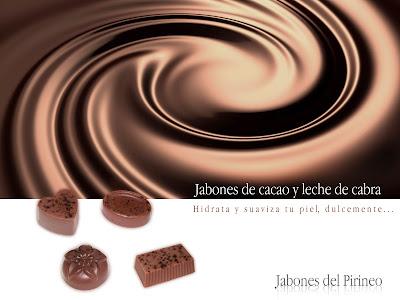 Jabón de cacao y Leche de Cabra