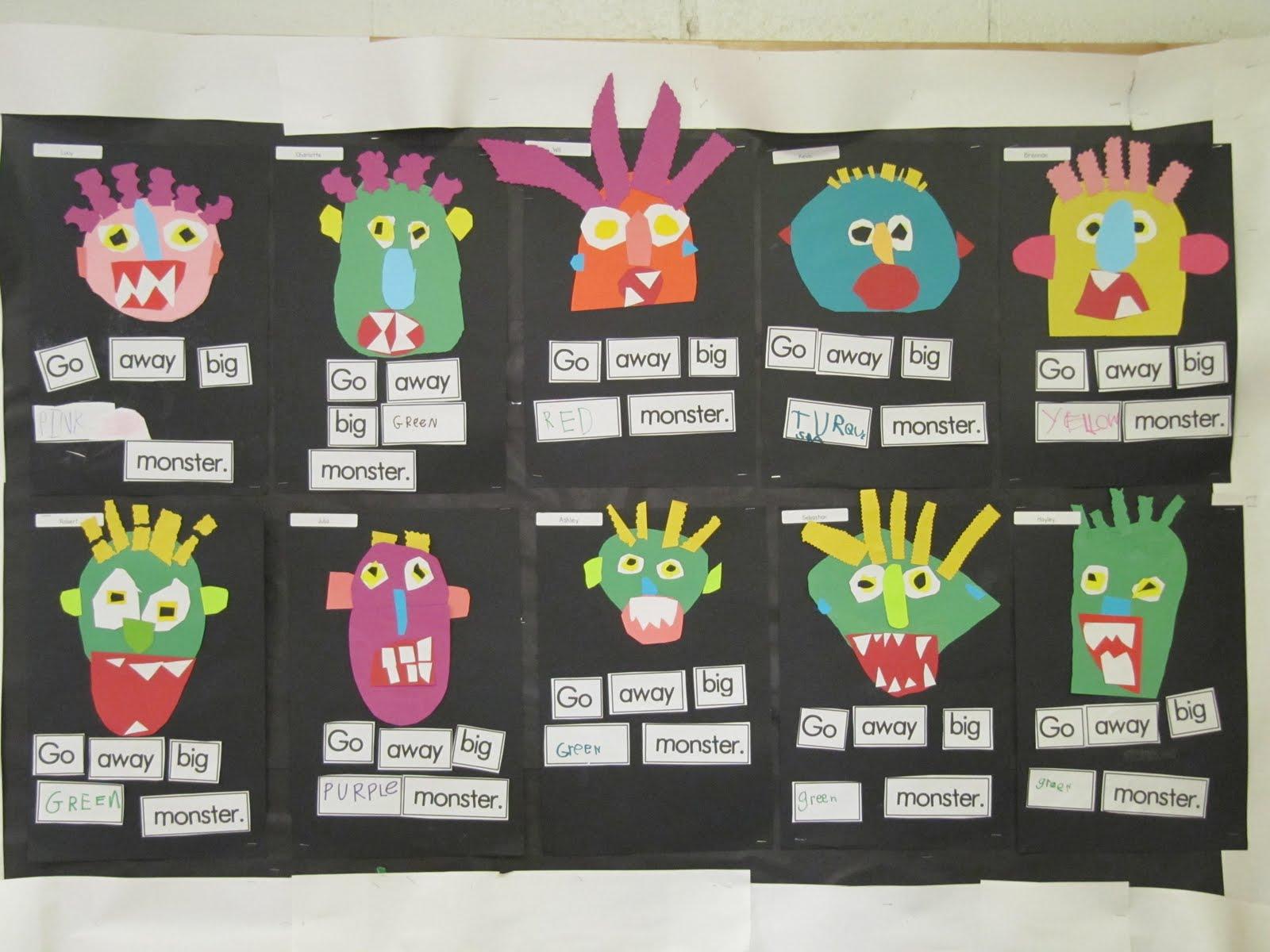 Joyful Learning In Kc Go Away Green Monster