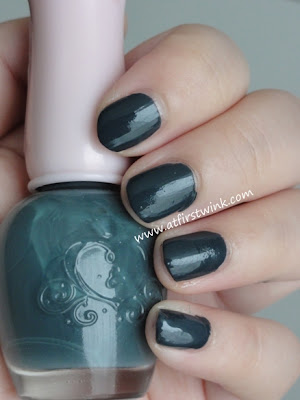 Etude House nail polish DBL 602 - Maybe Navy