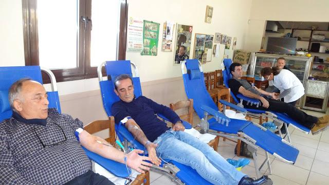 Με επιτυχία η 29η εθελοντική αιμοδοσία του Συλλόγου Αρετής «Διογένης ο Σινωπεύς»