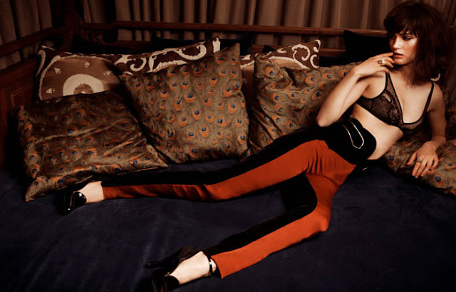 Lingerie Editorial Ksenia Nazarenko Gets Bedroom Ready