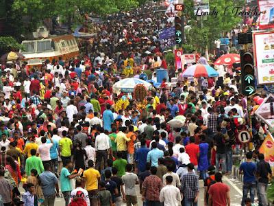 Pahela baishakh in Dhaka