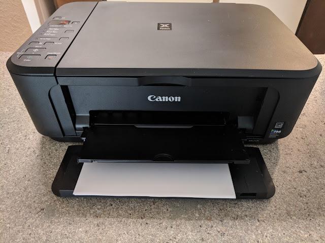 Impresora Canon con error P02