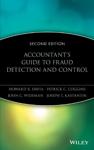 Accountant's Guide to Fraud Detection and Control by Howard R. Davia and Patrick C. Coggins