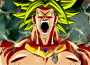 Dragon Ball Z Broly Puzzle