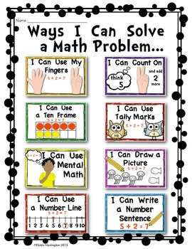 Free math Word Problem Worksheets
