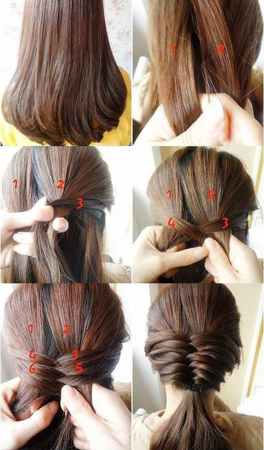 Eccezionale Look Like A Model: Tutorial hairstyle: come fare acconciature con  SH27