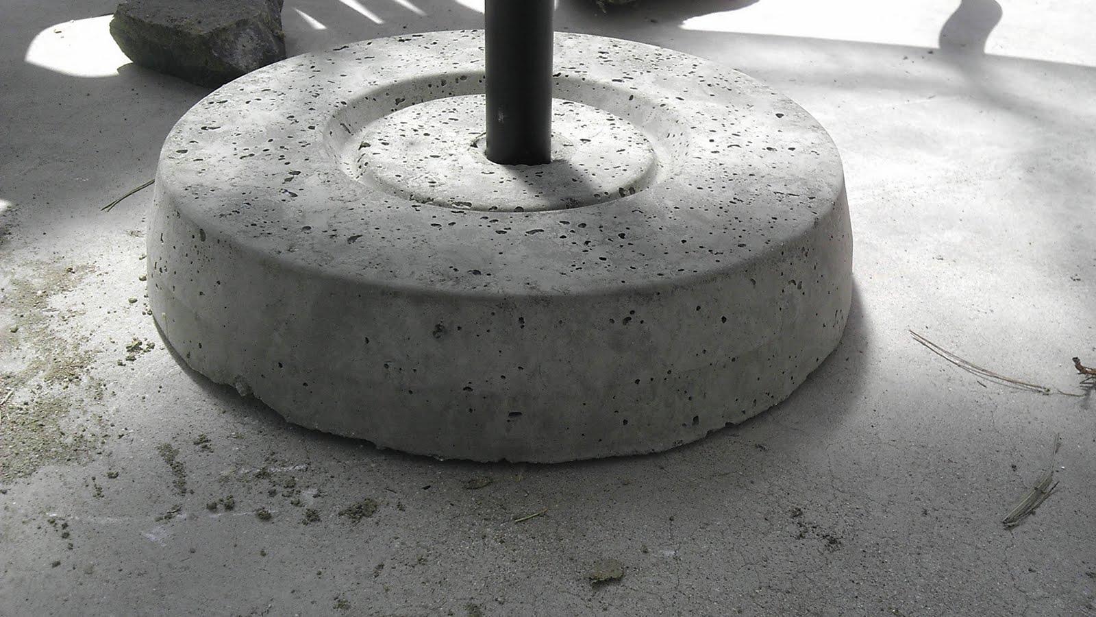 Diy Concrete Umbrella Stand