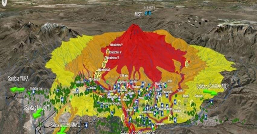 EL MISTI: Arequipa es la tercera ciudad de mayor riesgo volcánico en el mundo