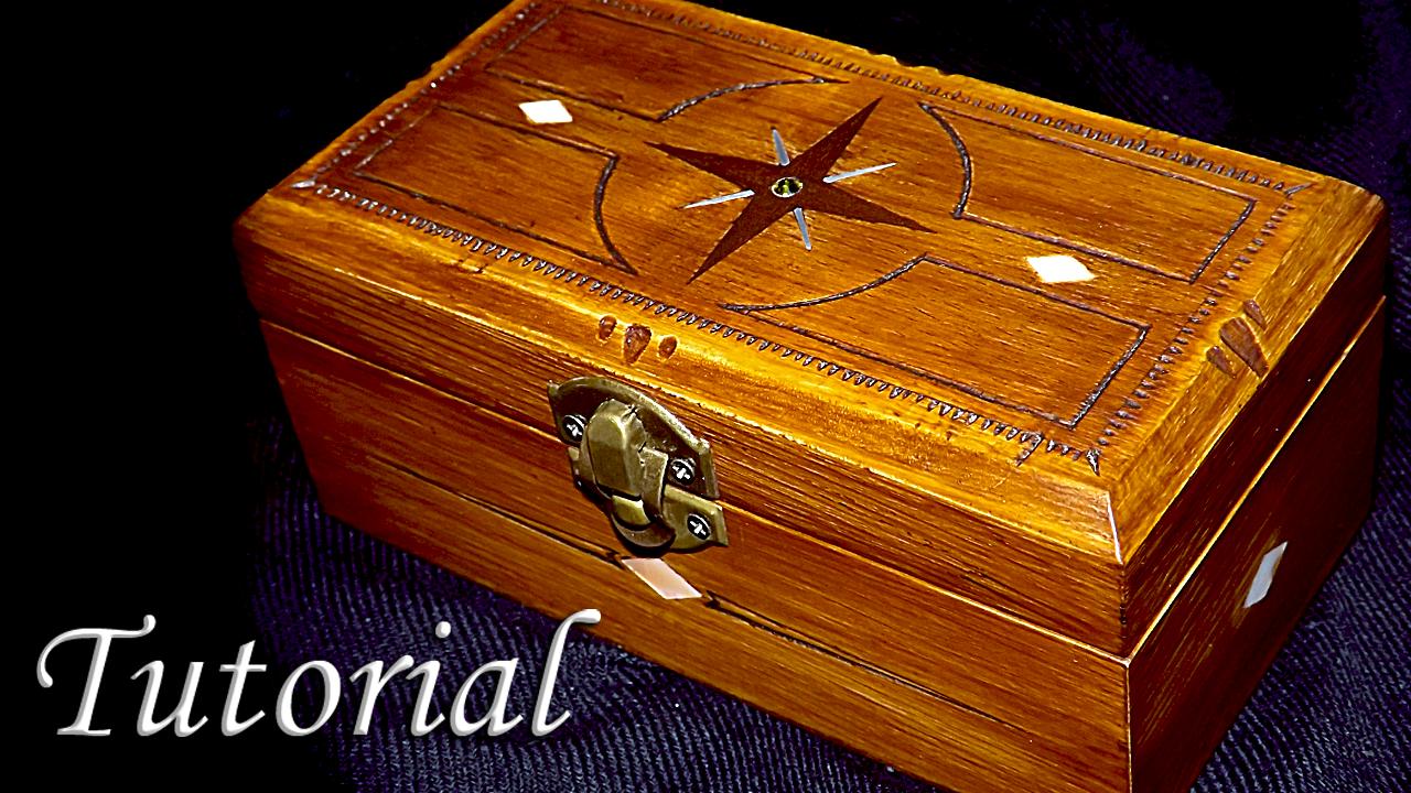 El taller de la inventiva como decorar una caja de madera - Como decorar una caja de madera ...