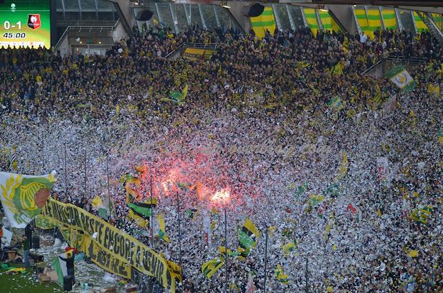 Le public de la Beaujoire, atout majeur du FC Nantes.