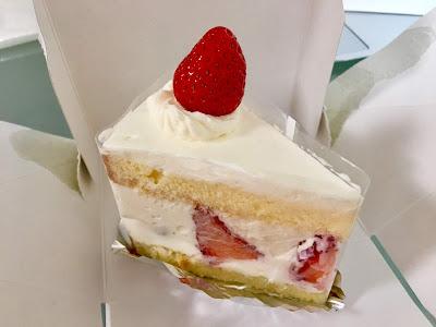 いちびこのショートケーキ