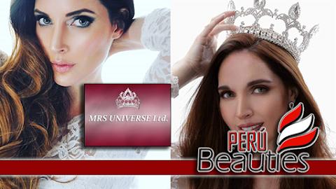 Pierangeli Dodero es Señora Perú Universo 2019