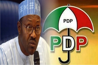 Image result for images of PDP vs President Buhari