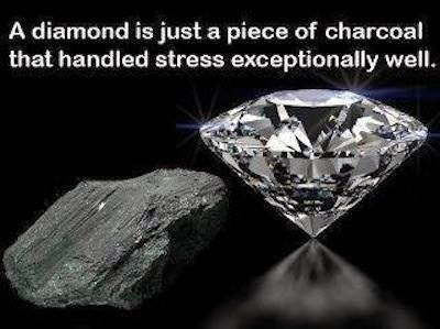 BECOME LIKE A DIAMOND !!