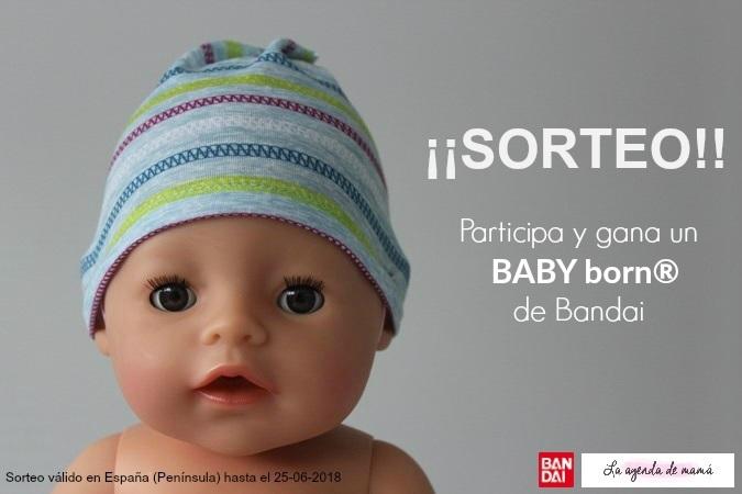 Sorteo baby born de Bandai