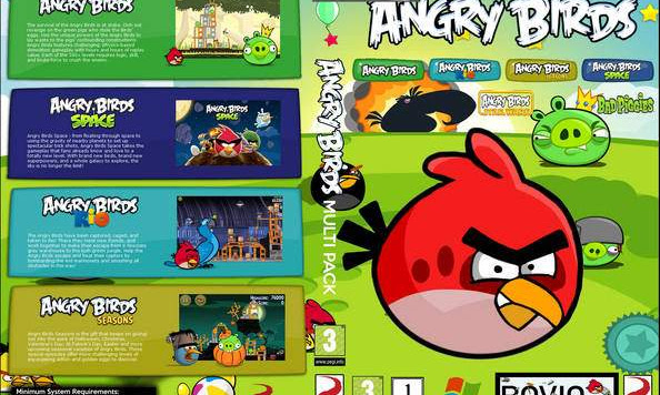 Game Angry Birds Collection 4 PC
