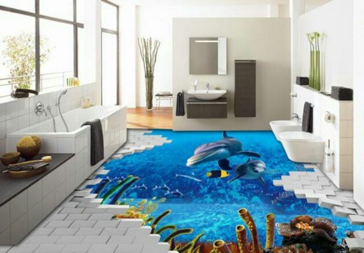 30 floor tile designs for every corner of your home. Realistic 3d Floor Tiles Designs Prices Where To Buy