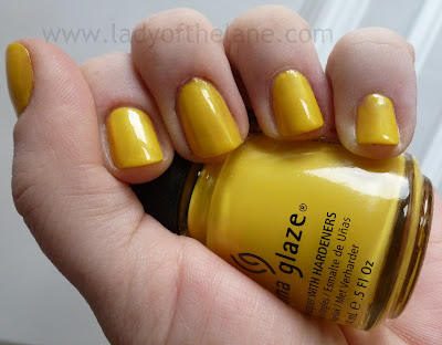China Glaze Sunshine pop