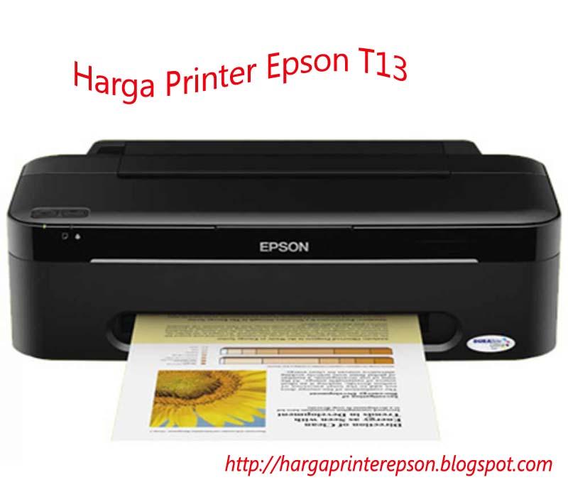 Daftar Harga Printer Epson 2017 Terbaru