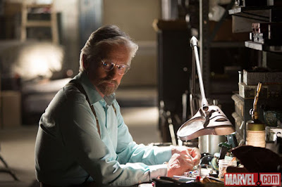Michael Douglas as Dr. Hank Pym in Ant-Man, director by Peyton Reed