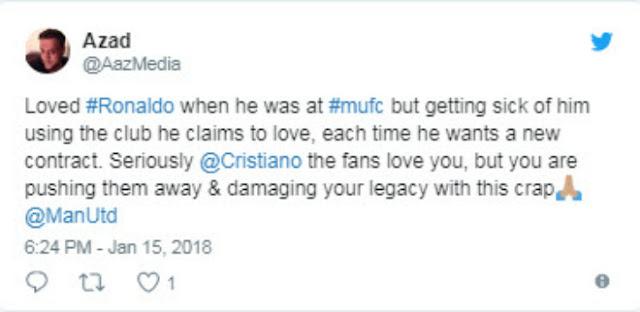 """Ronaldo muốn về MU: Triệu fan """"đuổi khéo"""", chỉ trích lợi dụng để tăng lương 4"""