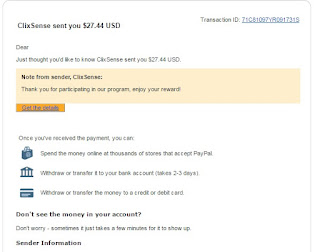 Email dari clixsense