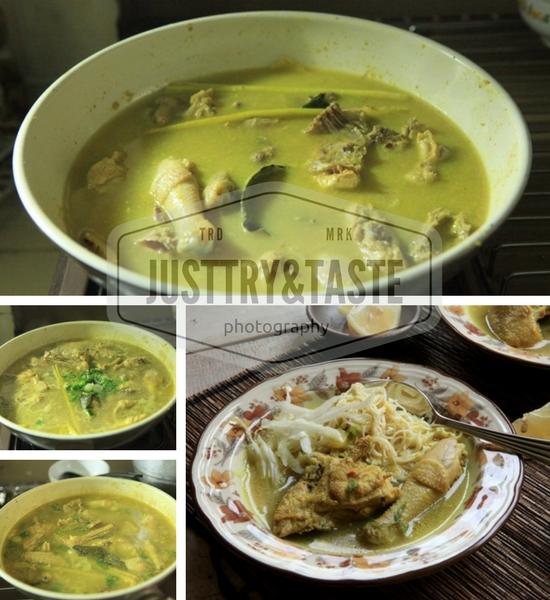 Resep Soto Ayam Kampung a la Mbak Ayu