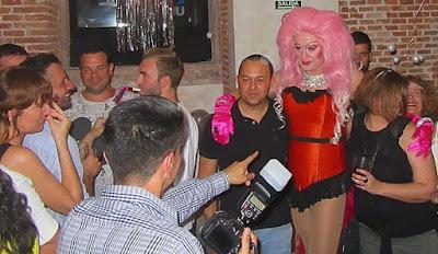 Drag queen Gabrielle - espectáculo para cumpleaños en Madrid