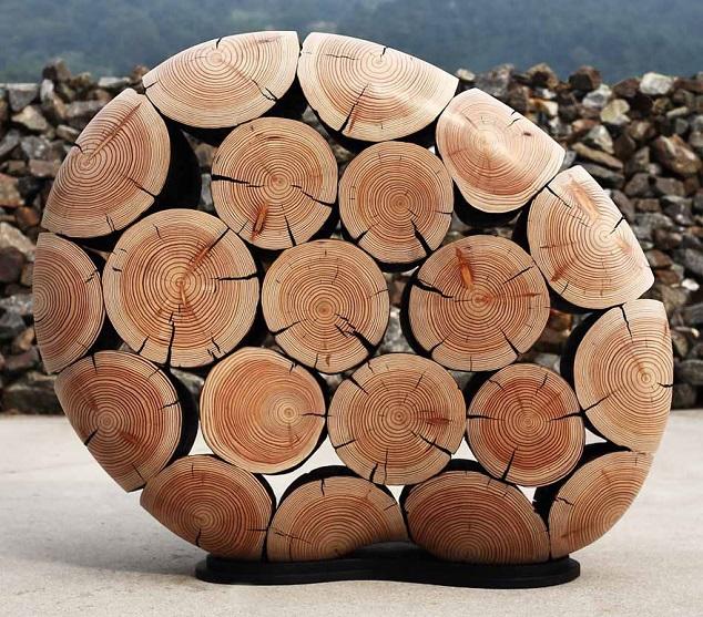 fotografije, skulpture od drveta
