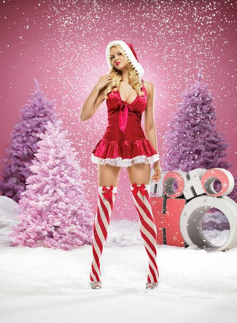 Christmas 2009 lingerie
