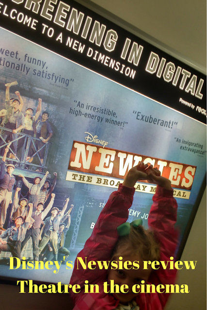 Disney's Newsies review- theatre in the cinema