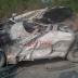 Another Dangote truck crushes a commercial bus in Ore, Lagos-Benin expressway and many dead...graphic photo