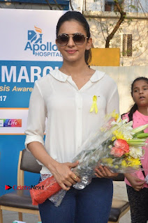 Actress Rakul Preet Singh at Endometriosis Awareness Walk at Apollo Cradle  0046.jpg