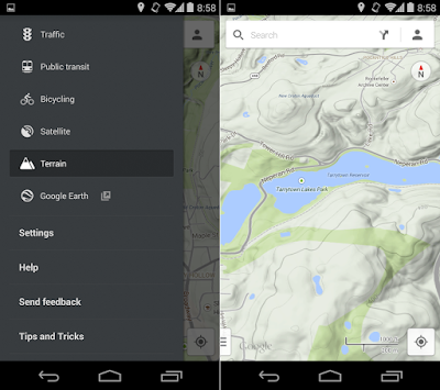 Aplikasi google maps android